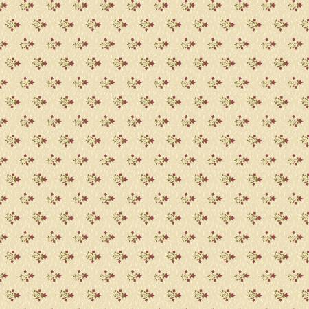 Buttermilk Basics Flowers And Vines Tan