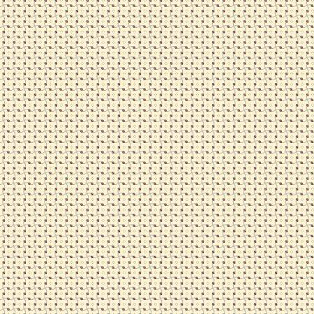 Buttermilk Basics Dots And Squares Red