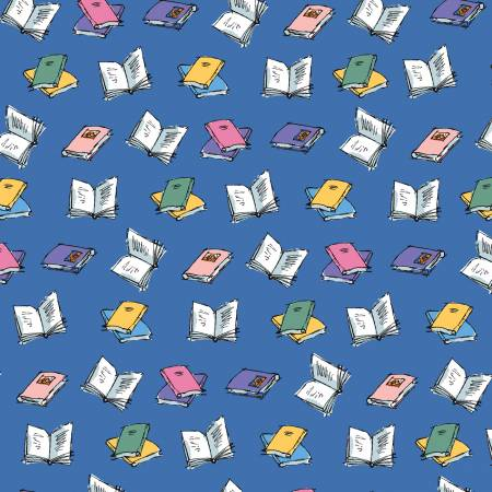 Matilda Book Toss Blue