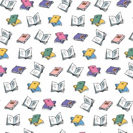 Matilda Book Toss White