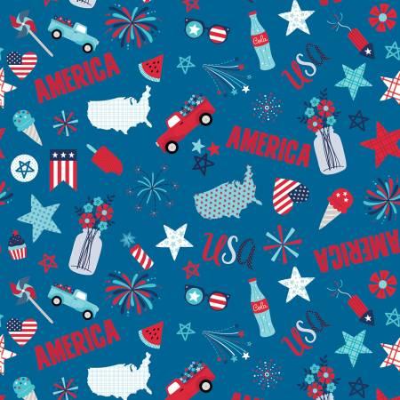 Fireworks & Freedom - Main Blue