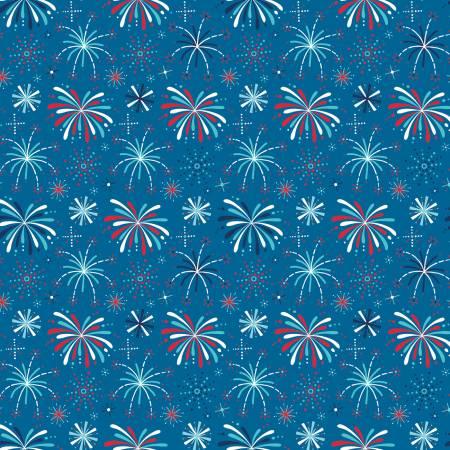 Fireworks & Freedom Show Blue