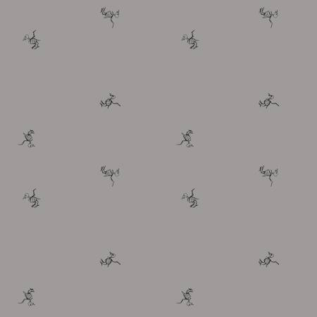 Scaredy Cat - Bird Bones -C9414-GRAY