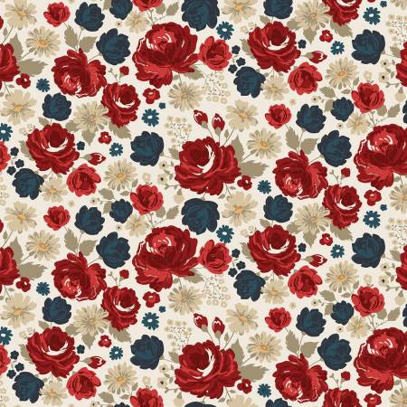 American Legacy - Floral - Cream
