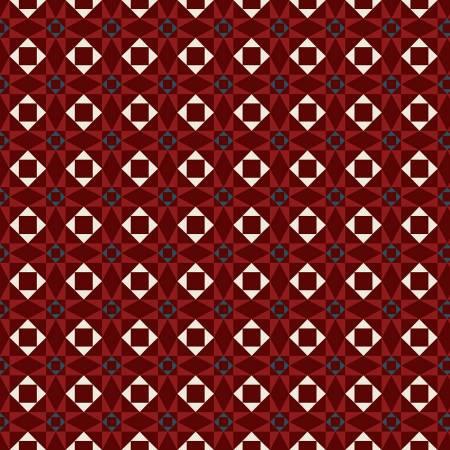 American Legacy - Geometric - Red
