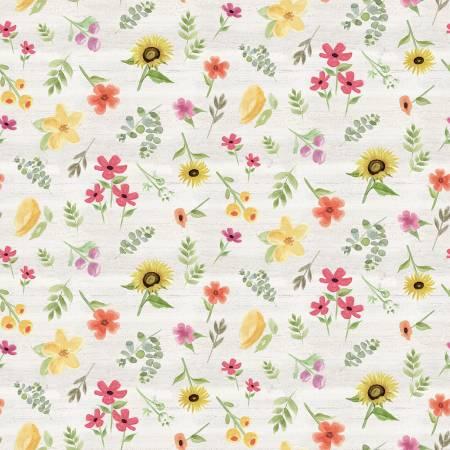 Homestead Life Flowers Cream