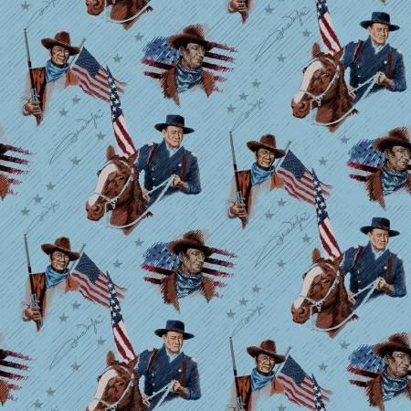 Americana John Wayne - Main - Blue