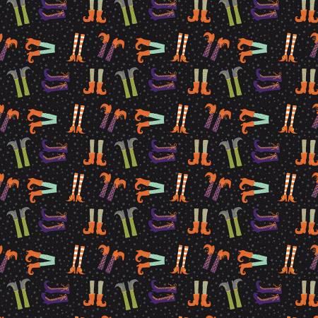 Hocus Pocus  - Skeletons - GC9494-BLACK