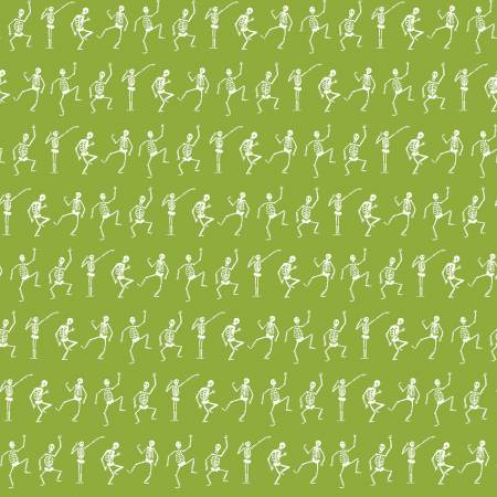 Hocus Pocus Skeletons Green