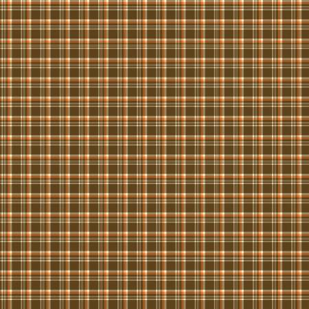 Give Thanks by Sandy Gervais for Riley Blake C9525 Plaid Brown
