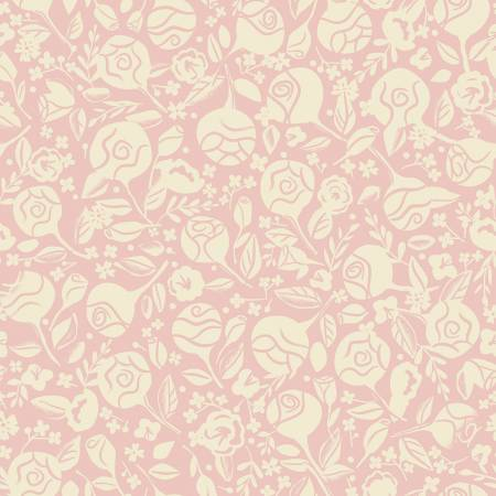 Beauty & The Beast Floral Pink