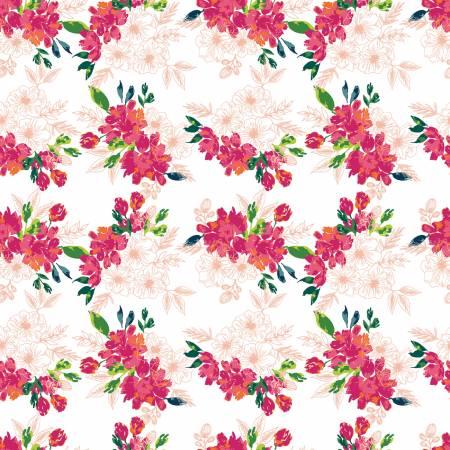 Garden Party Flower Bed Cream