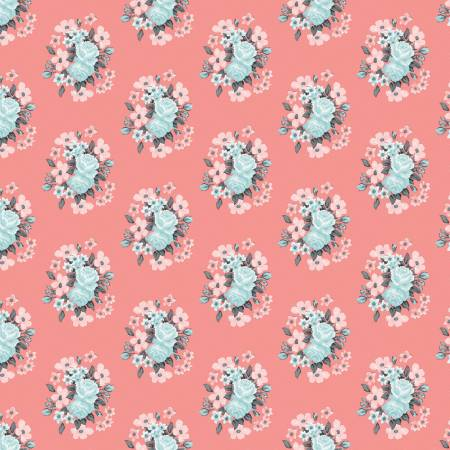 Abbies Garden Bouquet Coral