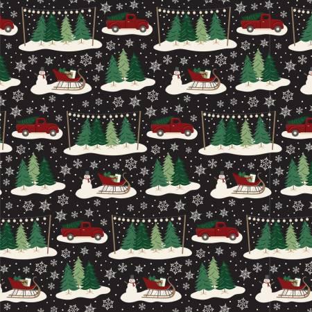 Christmas Traditions   c9590R-Black