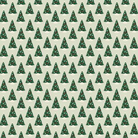 Christmas Traditions Trees Mint - C9591