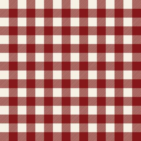 Christmas Traditions Plaid Red