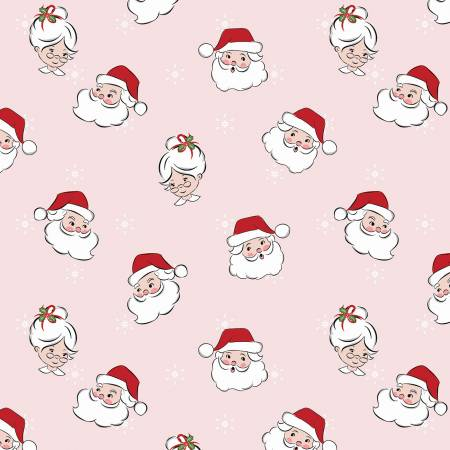 Santa Claus Lane Main - Pink