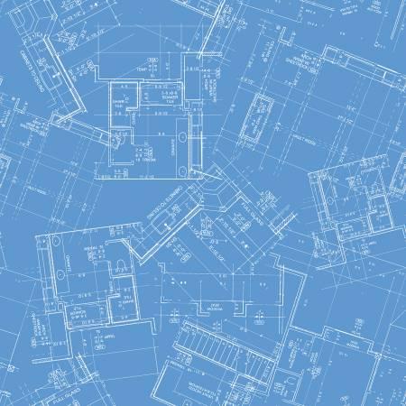 Conservatory - Blueprint - Blue