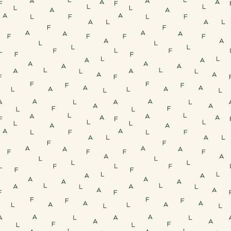 Yuletide Fa La Letters Cream- C9633-CREAM