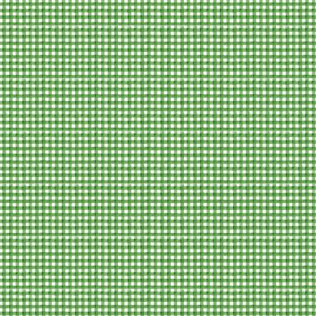 Snow Sweet Painted Gingham Green