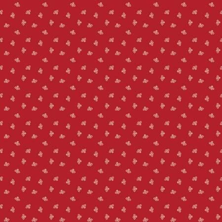 Prim Blossom Barn Red