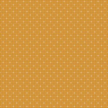 Lori Holt Prim Plaid Butterscotch by Riley Blake C9701