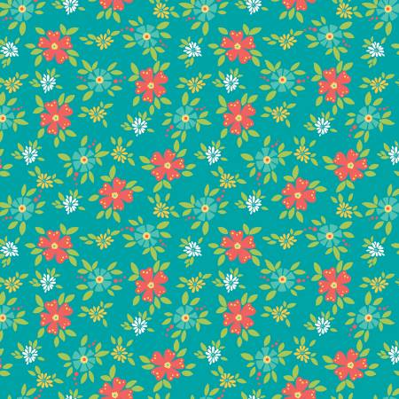Shades Of Summer C9781 Teal