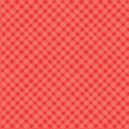 Shades Of Summer Plaid Red