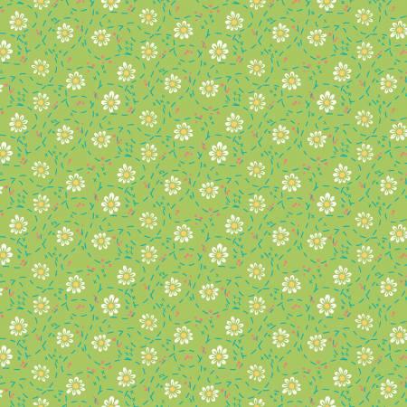 Shades Of Summer Daisy Green