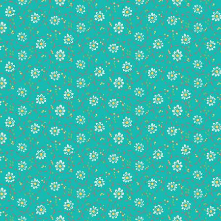 Shades Of Summer Daisy Teal