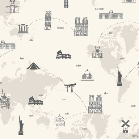 My Heritage - Map - Cream