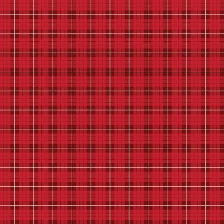 Wild At Heart - Plaid Red C9825