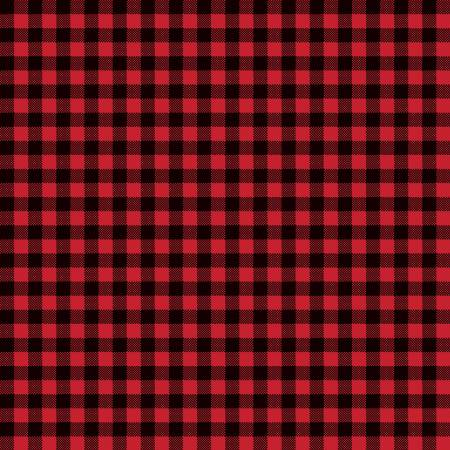 Wild At Heart Buffalo Plaid Red-9827