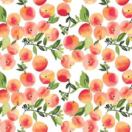 Glohaven Peaches on White