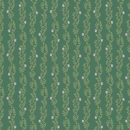 New Dawn - Clover Stripe - Dark Green