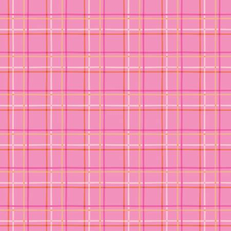 New Dawn - Plaid - Hot Pink