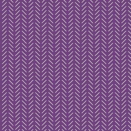 Fleur Lines Dark Purple by Sedef Imer