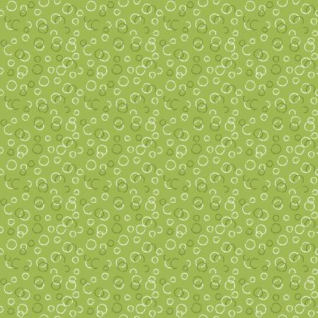 Ready Set Splash Bubbles Green by Sandy Gervais for Riley Blake Designs C9896-GREEN