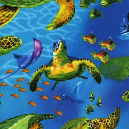 0120 Blue Sealife