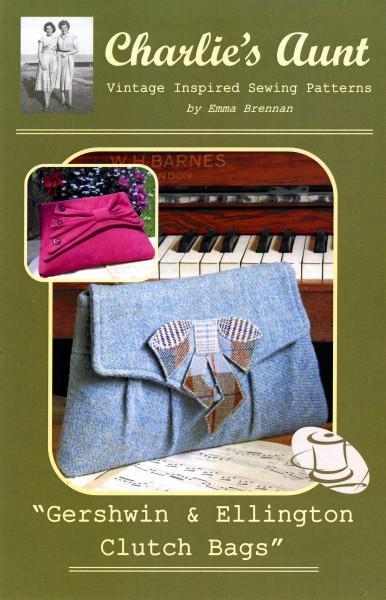 Gershwin & Ellington Clutch Bags
