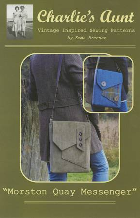 Morston Quay Messenger Bag Pattern