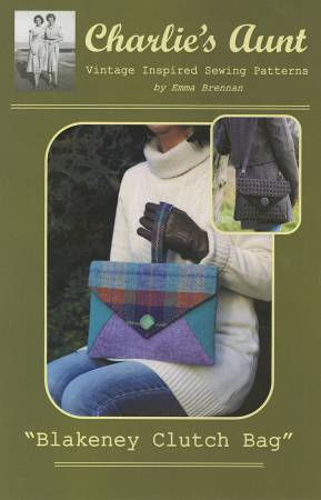 Charlie's Aunt Pattern Blakeney Clutch Bag