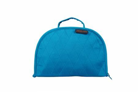 Oval Sewing Box Petite Aqua