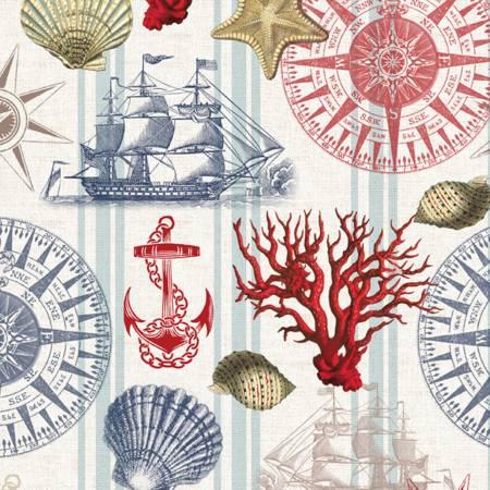 Nautical Navigation, 1yd Cut