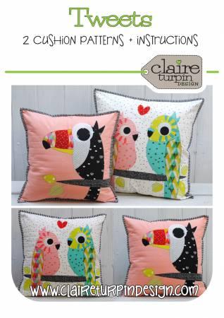 PT Q Creative Abundance Tweets Pillow