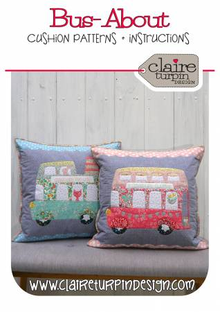 Bus - About Cushion - Claire Turpin