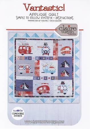 Vantastic! Applique Quilt Pattern - Claire Turpin CACT105