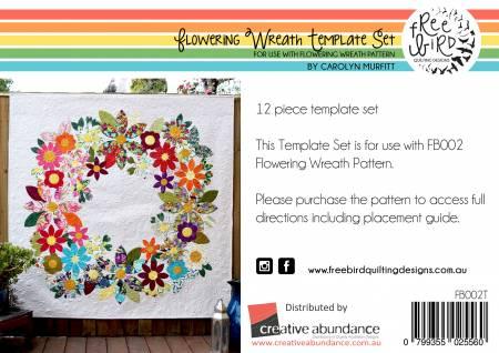 Flowering Wreath Template Set