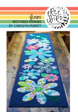 Fleurs Table Bed Runner