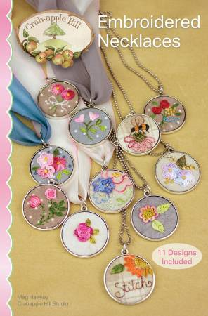 Embroidered Necklaces